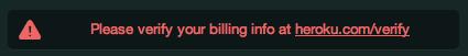 poor customer messaging by heroku
