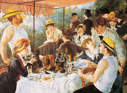 Jolly painting by Renoir